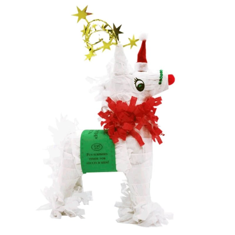 TOPS Malibu Mini Tabletop Reindeer Pinata