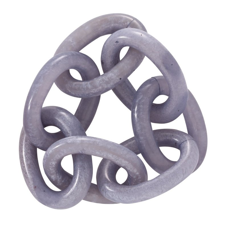 Bodrum Chain Link Periwinkle Set of 4
