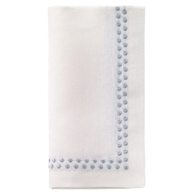 Bodrum Pearls Celadon 21'' Napkins Set of 4