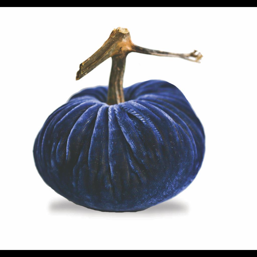 "Plush Pumpkins 3"" Denim Pumpkin"