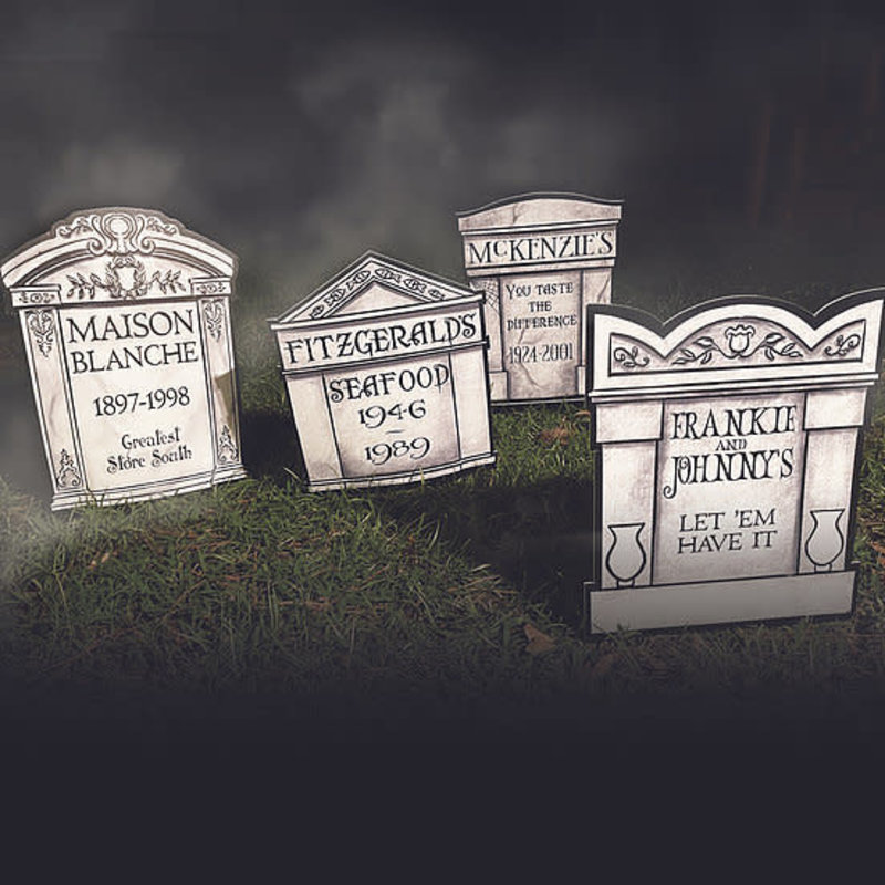Art By Allie Lafayette Cemetery Yard Signs Set of 4