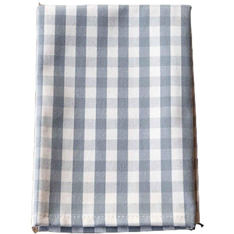 Park Hill Grey Gingham Cloth Napkin