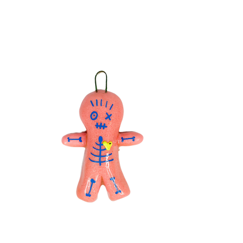 Crescent City Ornament VooDoo Ornament Pink