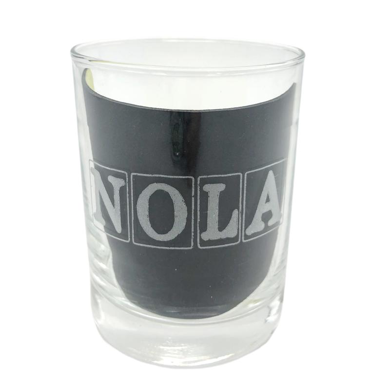 Leonard Etched NOLA Glasses