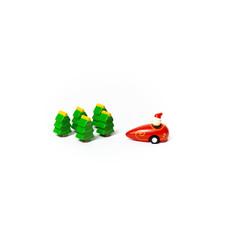 Jack Rabbit Creations Bowling Game: Santa & Trees