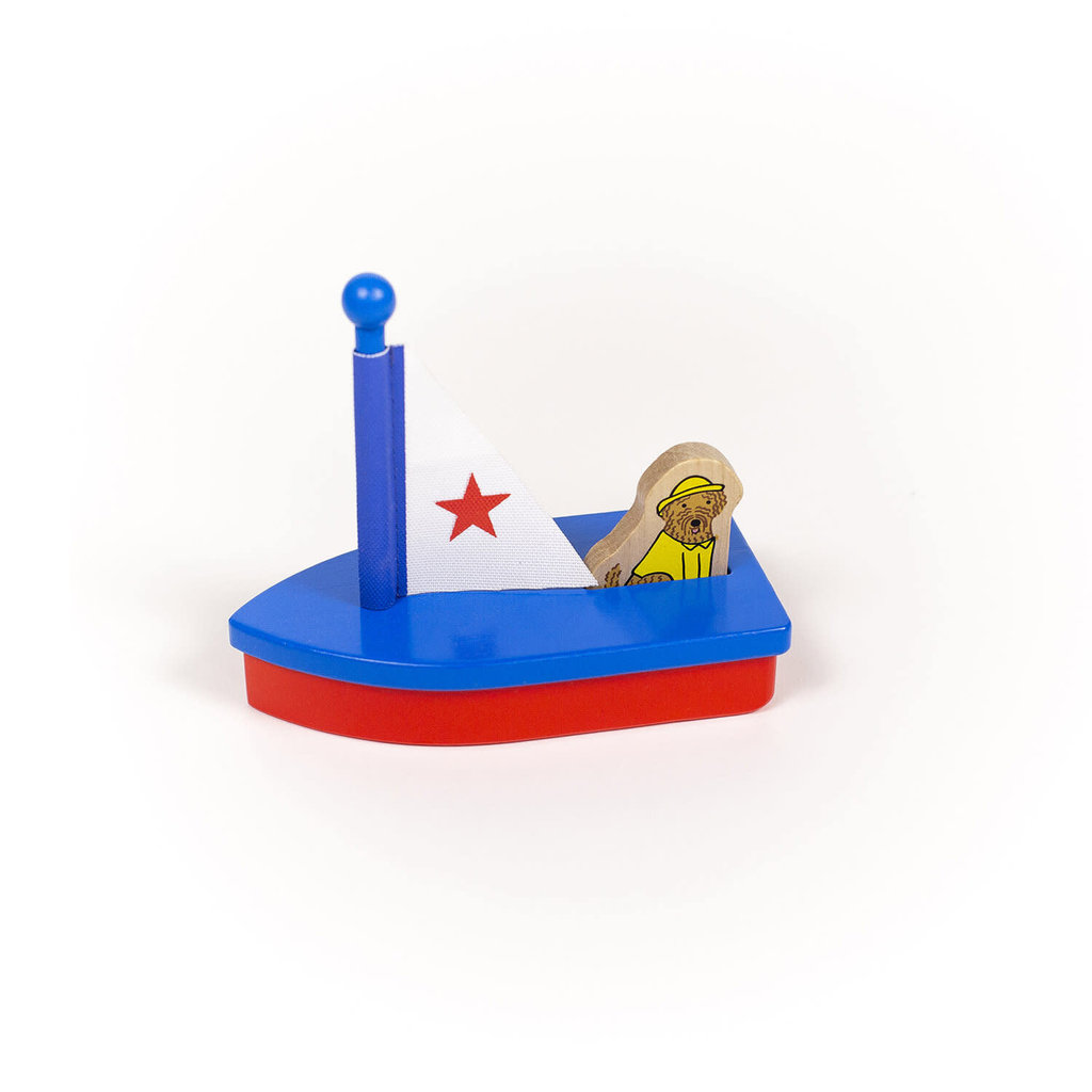 Jack Rabbit Creations Boats with Dogs: Star