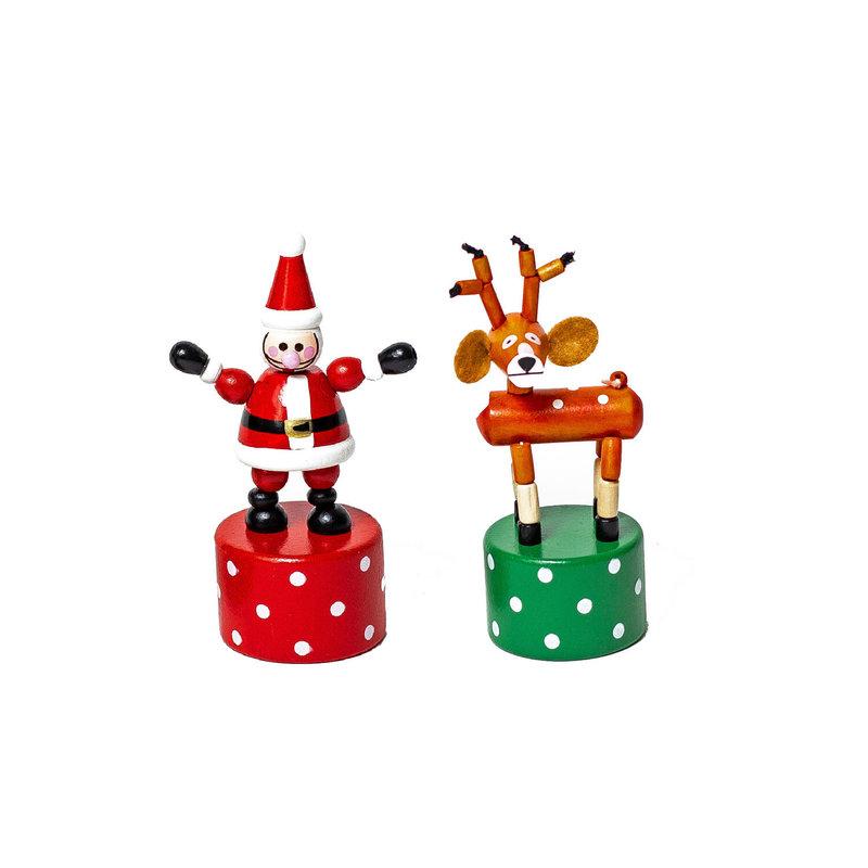 Jack Rabbit Creations Push Puppet Santa