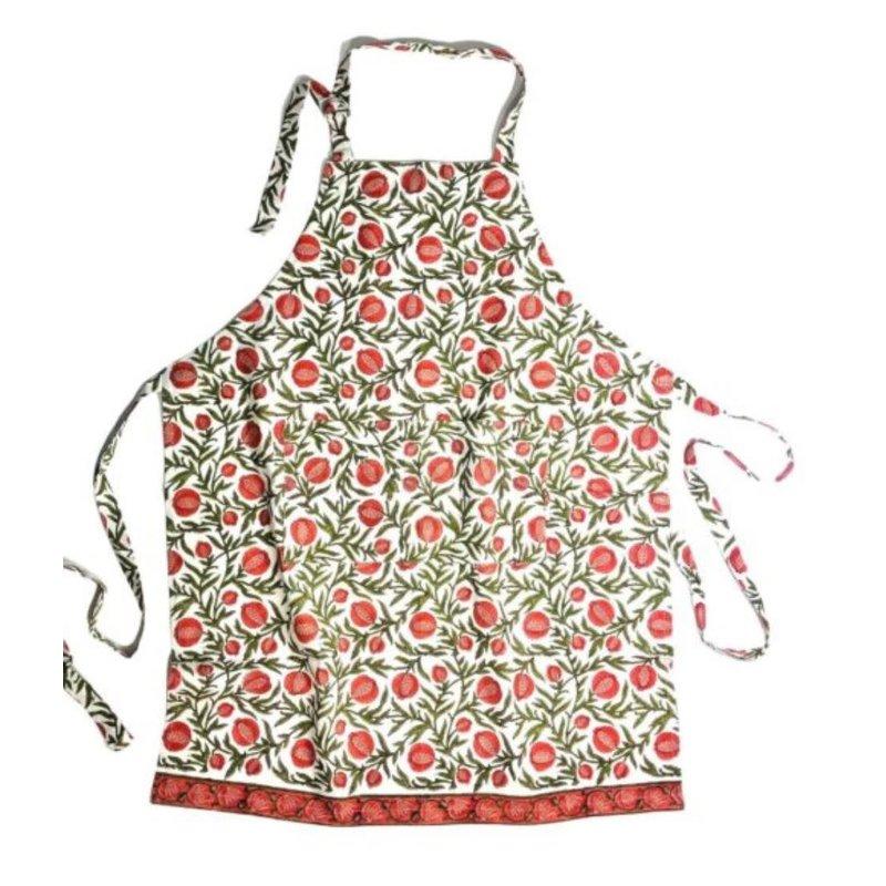 Pacific & Rose Textiles Pomegranate Apron