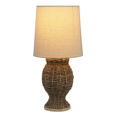 Ganz Jute Accent Lamp