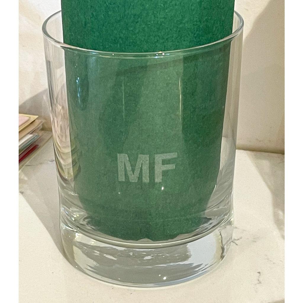 Leonard Etched Sweary Glass MF