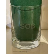 Leonard Etched Sweary Glass SOB