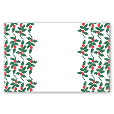 Maison de Papier Scattered Holly Forest & Red Placemat