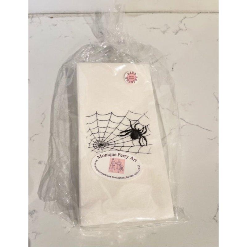 Monique Perry Spider Paper Guest Hand Towels