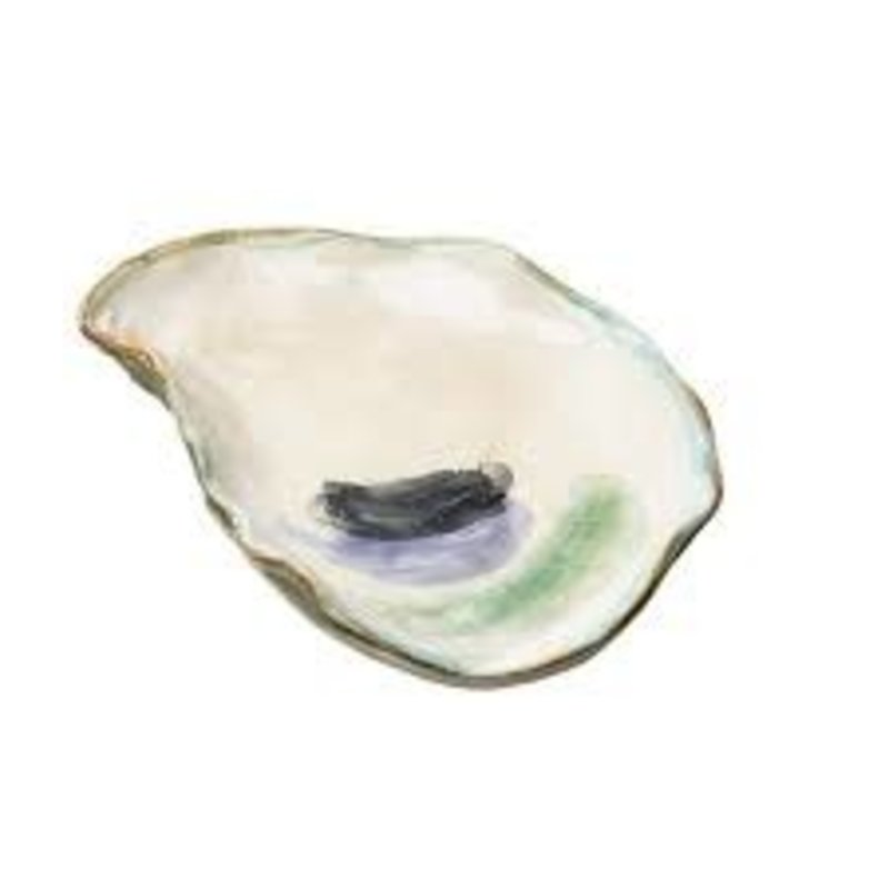 Abigails Oyster Plate, Medium Seaside Collection