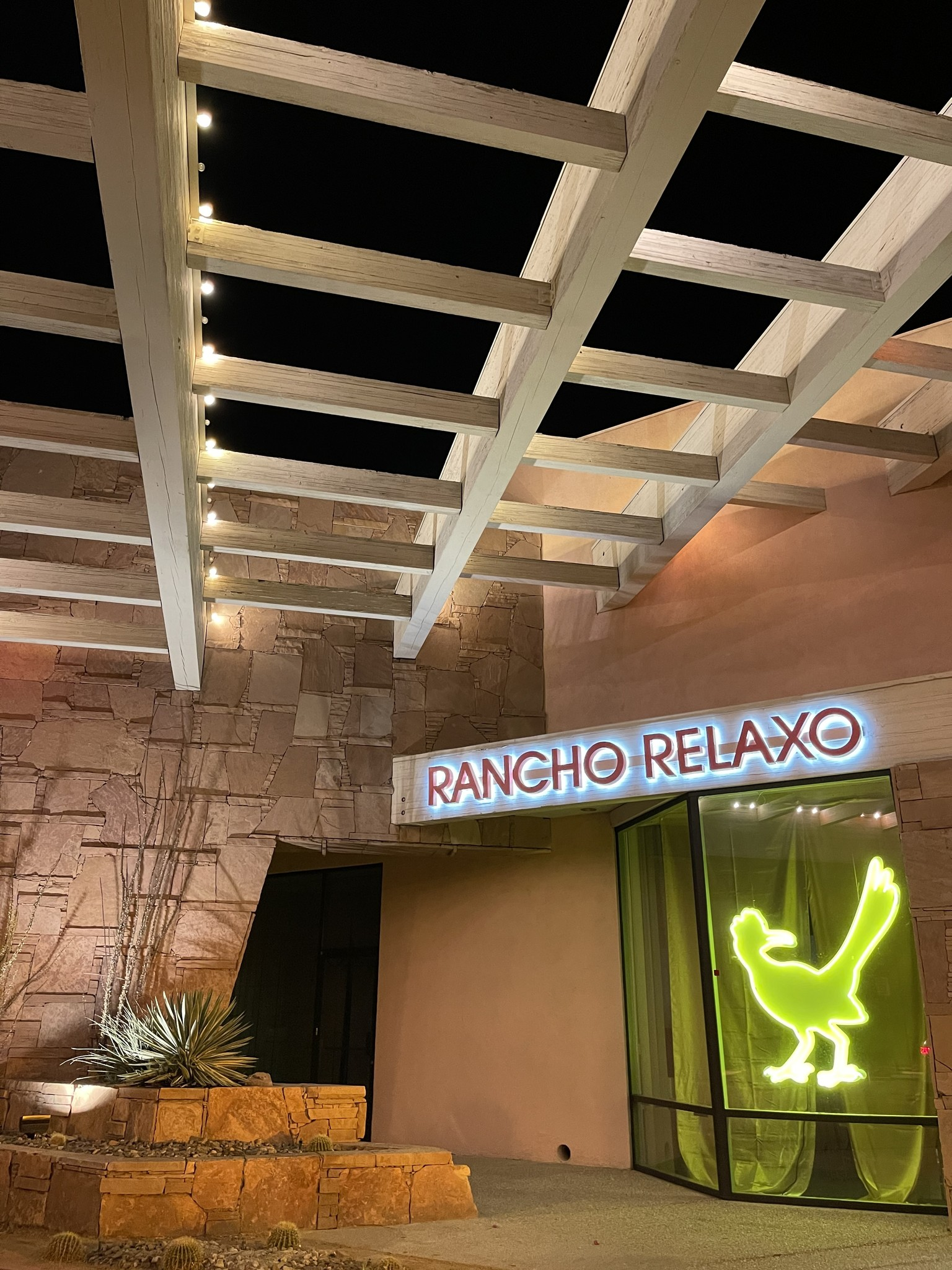 Nights of Neon and the Neon Queen neon road runner for Rancho Relaxo