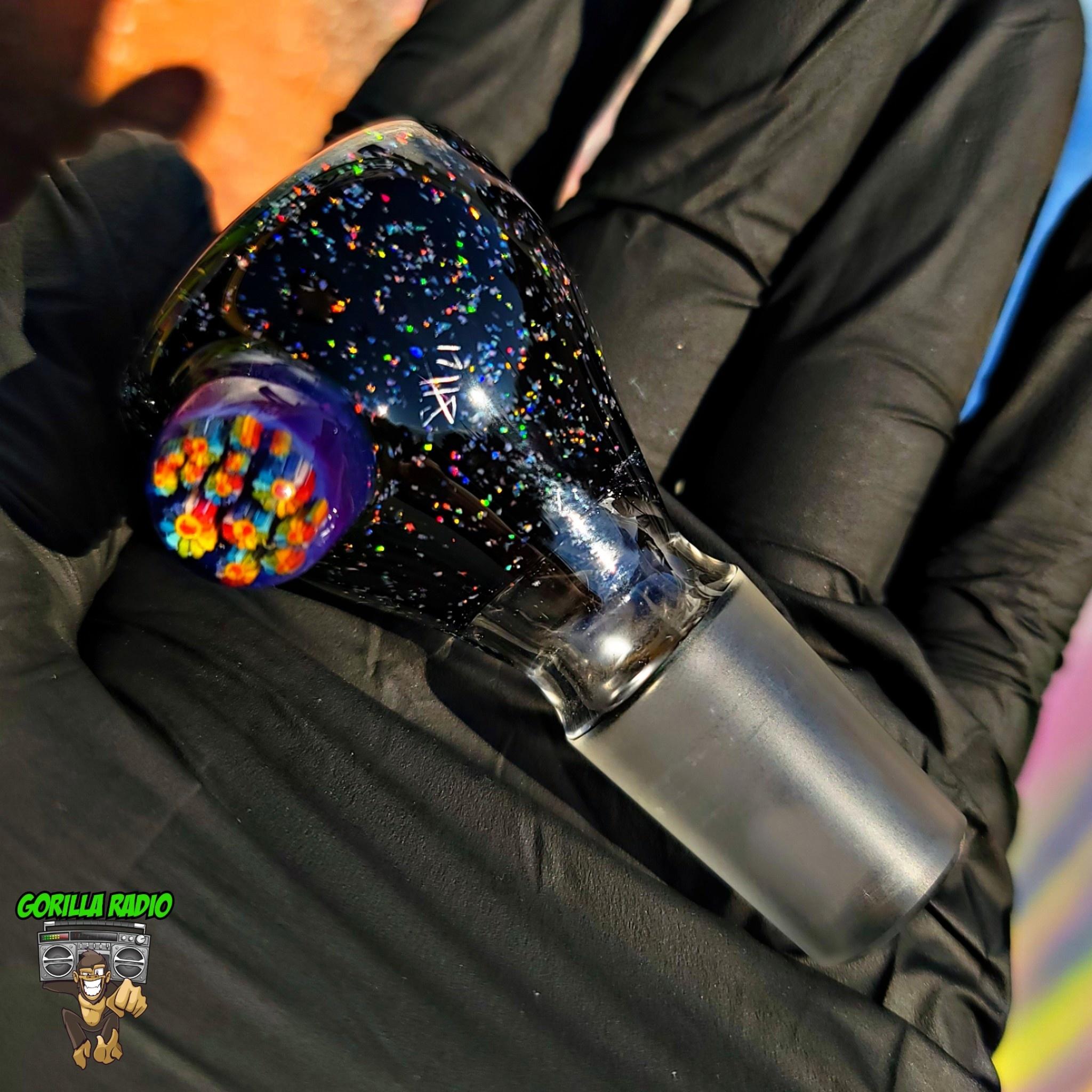Steve H Crushed Opal Slides 18mm