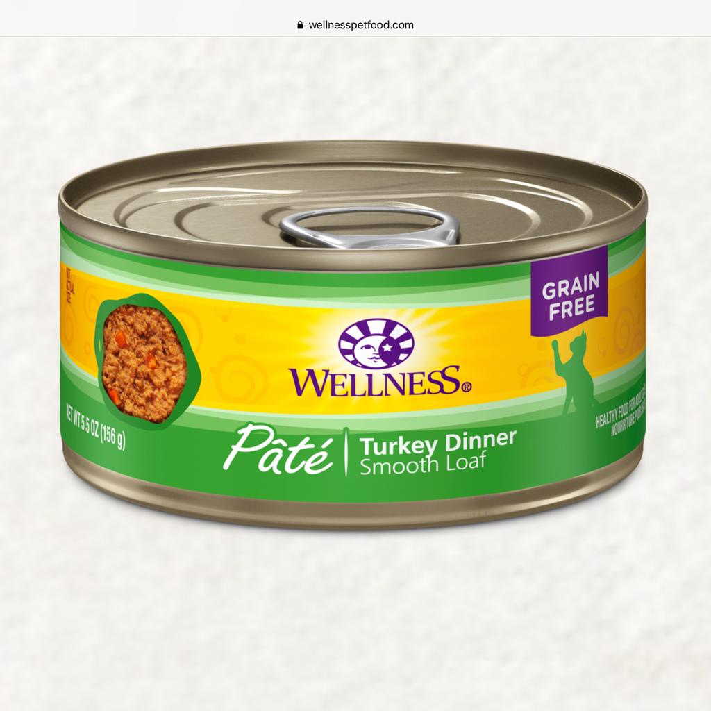 Wellness Wellness Turkey Cat 6oz