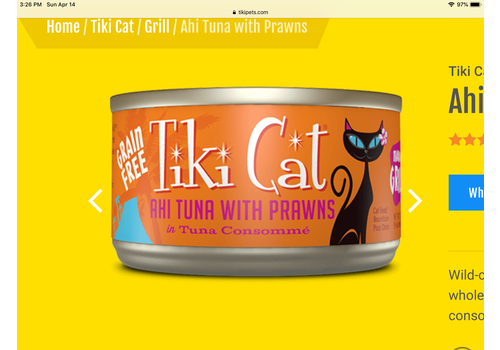 Tiki Cat Tiki Cat Manan Ahi Cat 2.8oz