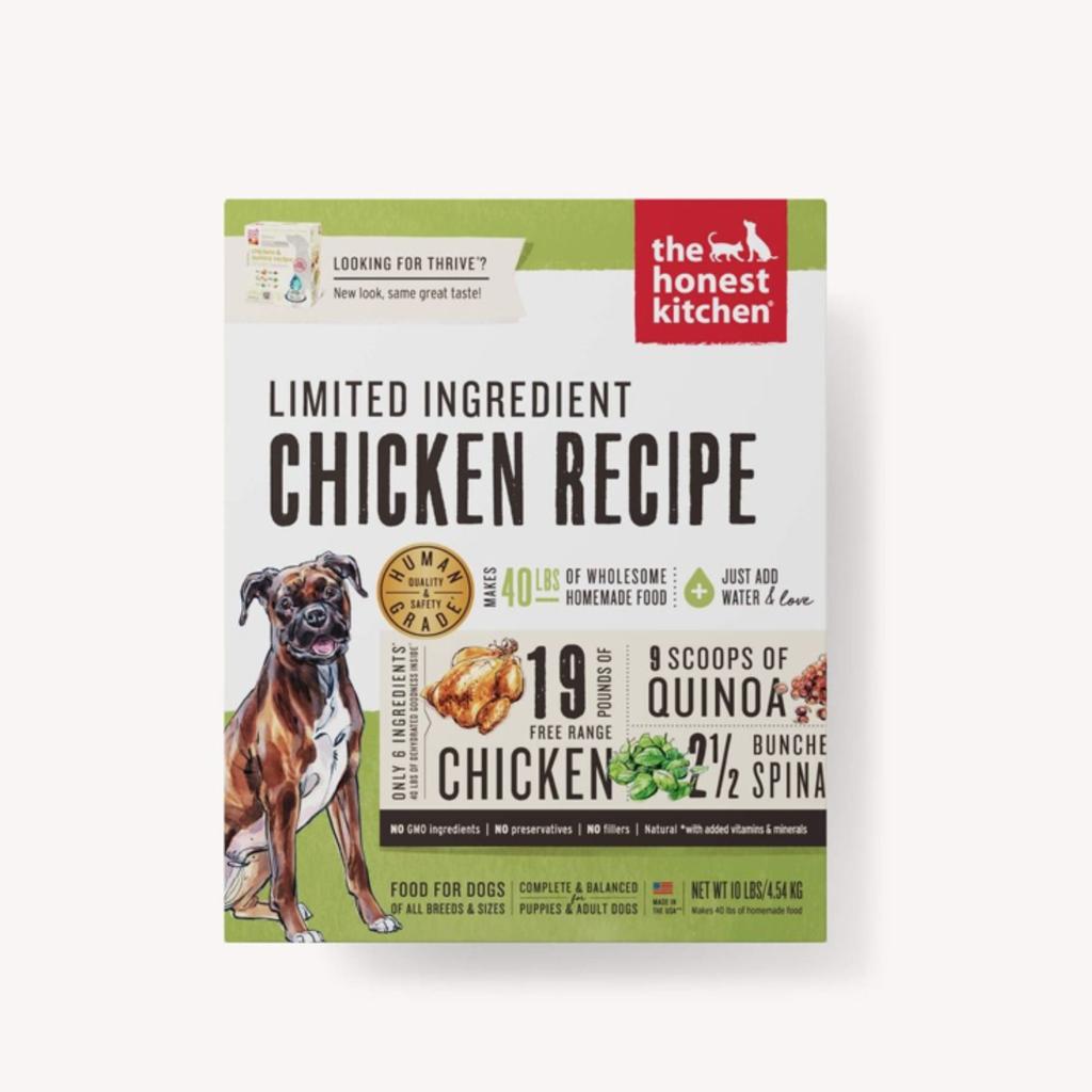 Honest Kitchen Honest Kitchen Limited Ingredient Chicken Thrive - 10lbs