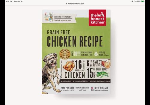 Honest Kitchen HK GF Chicken Force 10#