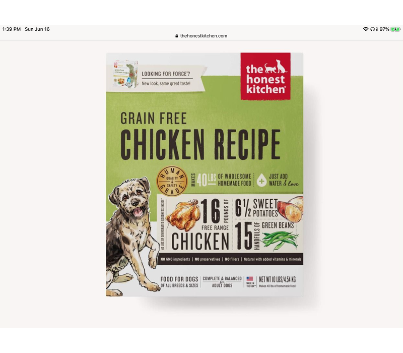 HK GF Chicken Force 10#