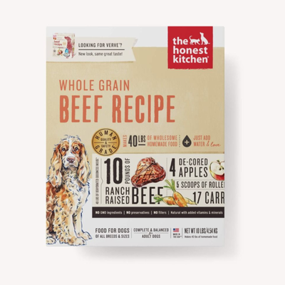Honest Kitchen Honest Kitchen HK WG Beef Verve 4#