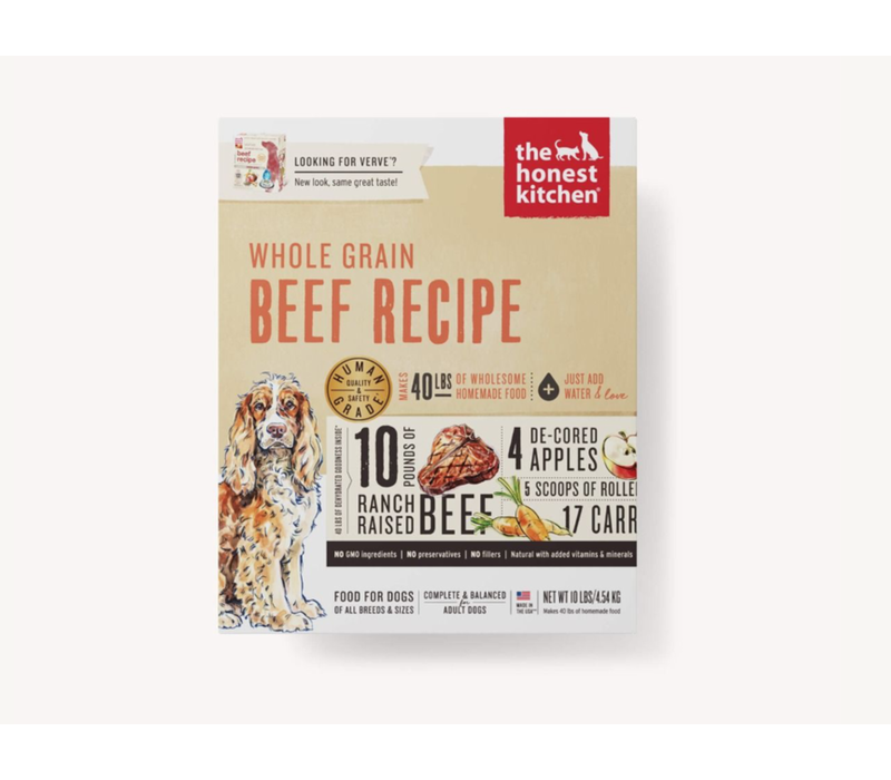 Honest Kitchen HK WG Beef Verve 4#