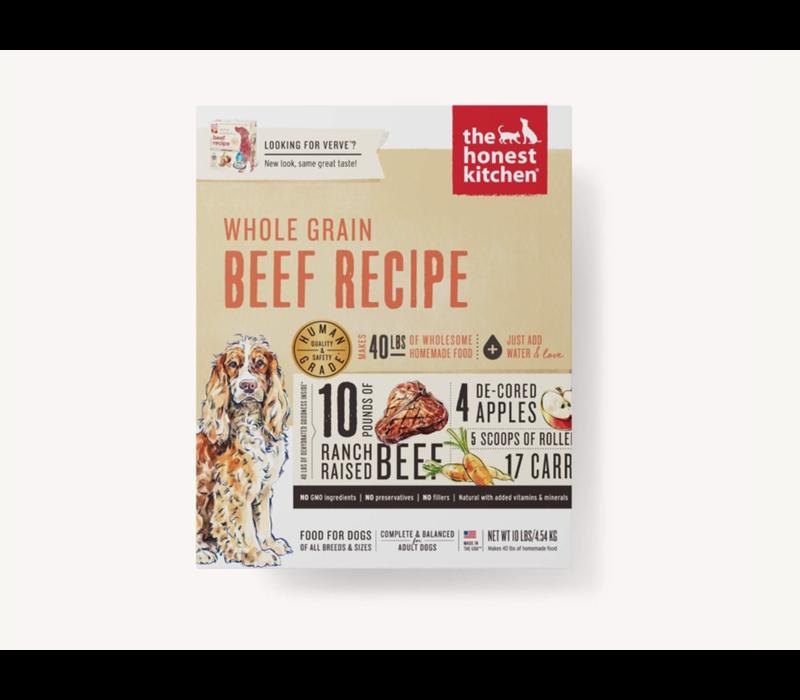 Honest Kitchen HK WG Beef Verve 10#