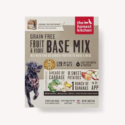 Honest Kitchen Honest Kitchen Grain Free Fruit/Veg Base Preference 3#