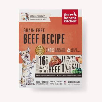 Honest Kitchen Honest Kitchen HK Grain Free Beef Love 10#