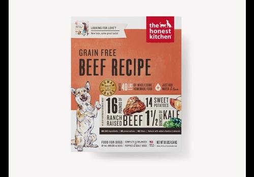 Honest Kitchen Honest Kitchen HK GF Beef Love 10#