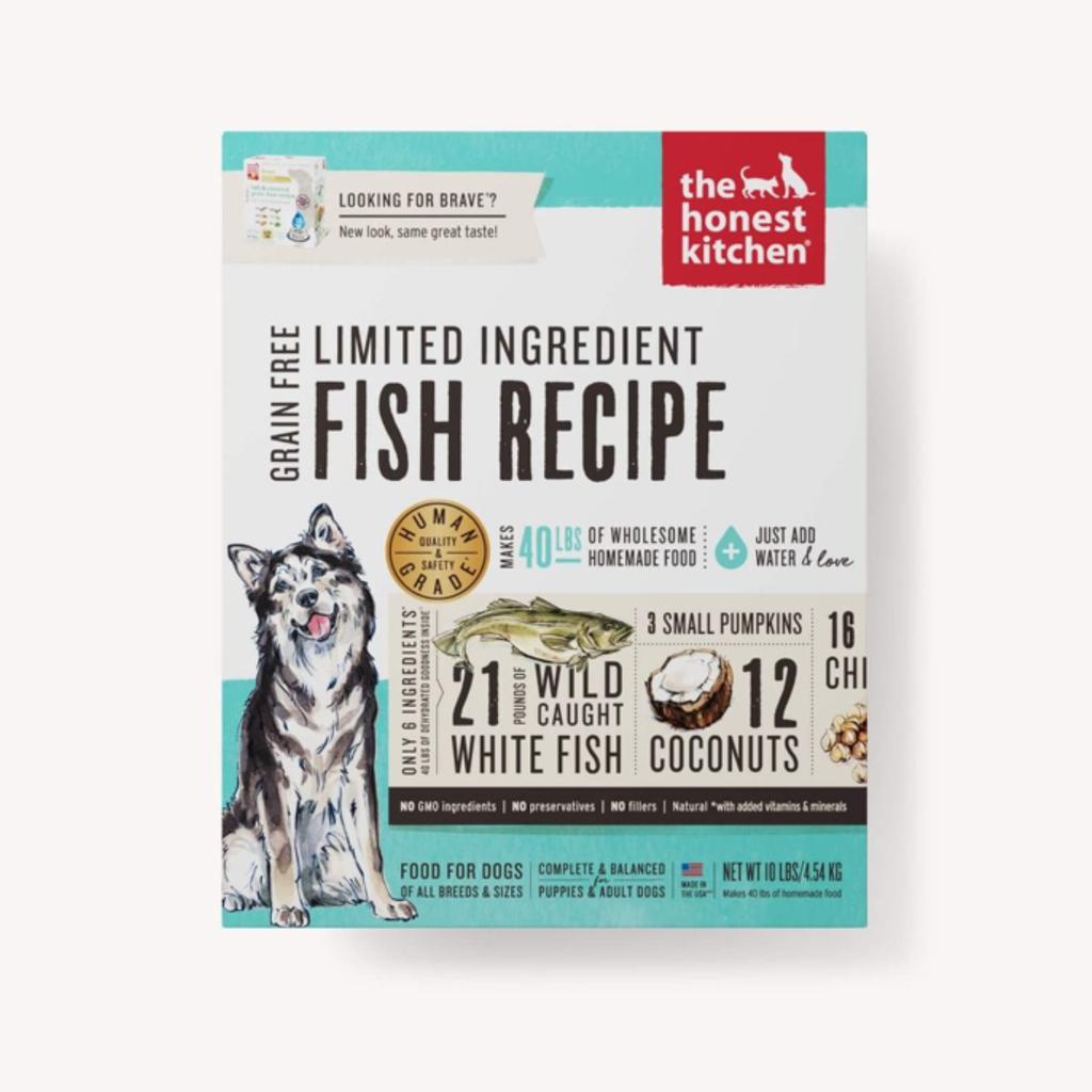 Honest Kitchen Honest Kitchen HK Grain Free Limited Ingredient Fish Brave 10#
