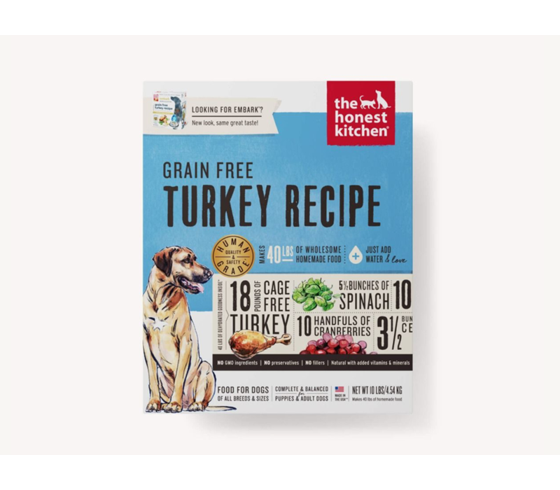 Honest Kitchen HK GF Turkey Embark 10#
