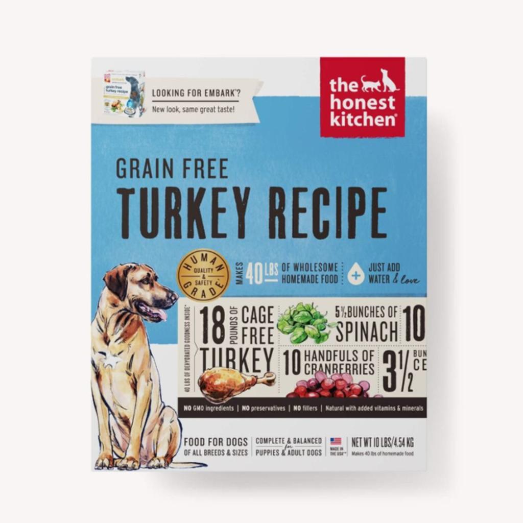 Honest Kitchen Honest Kitchen HK Grain Free Turkey Embark 4#