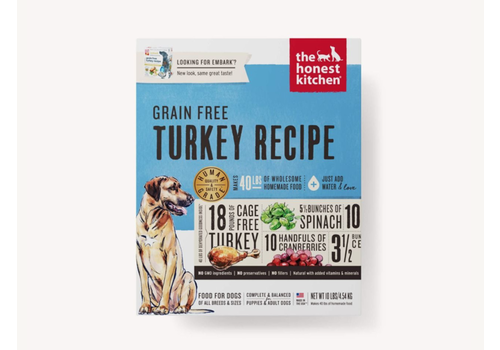 Honest Kitchen HK GF Turkey Embark 4#