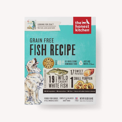 Honest Kitchen Honest Kitchen HK GF Fish Zeal 10#