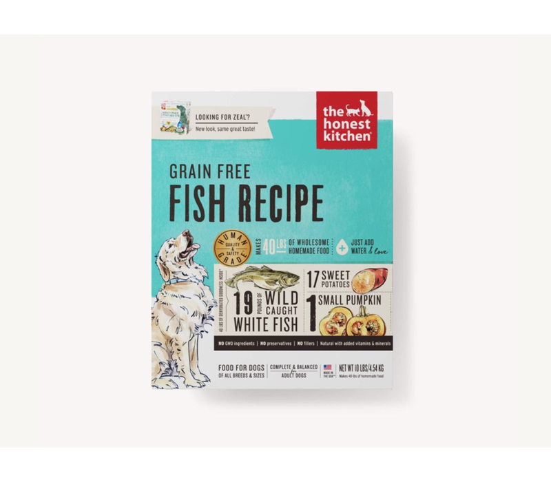 Honest Kitchen HK GF Fish Zeal 10#