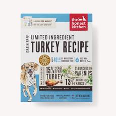 Honest Kitchen Honest Kitchen Grain Free Limited Ingredients Turkey Marvel - 4lbs