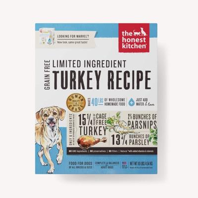 Honest Kitchen Honest Kitchen Grain Free Limited Ingredient Turkey Marvel 4lbs