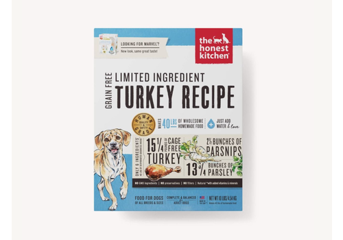 Honest Kitchen HK GF LIT Turkey Marvel 4#