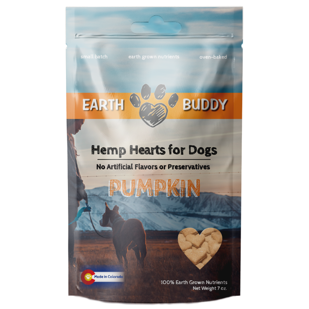 Earth Buddy Earth Buddy Treats Pumpkin 4mg 5.5oz