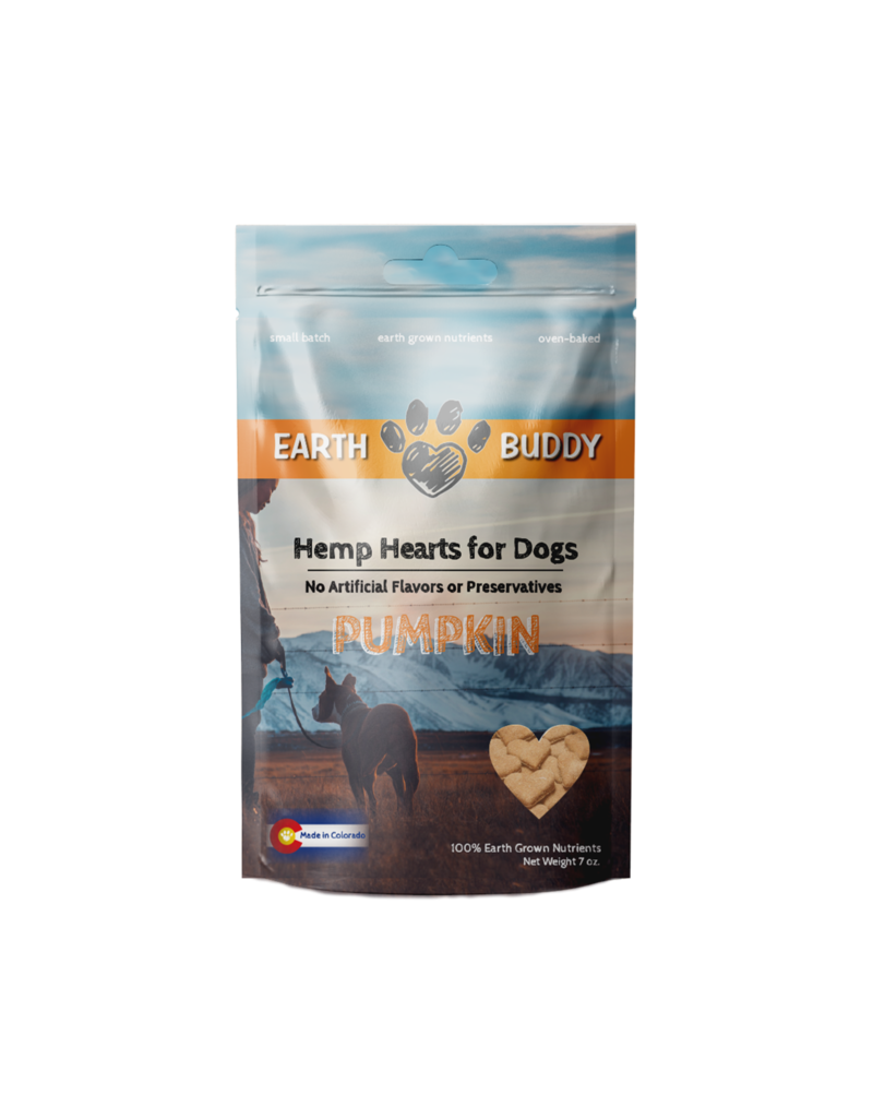 Earth Buddy Treats Pumpkin 2mg 8oz