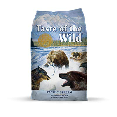 Taste of the Wild TOW Taste of the Wild Grain Free Pacific Stream 28lbs