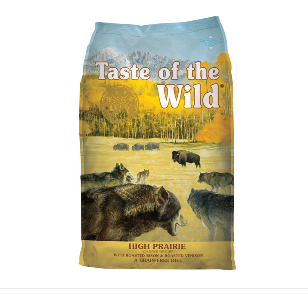 Taste of the Wild TOW Grain Free High Prairie 14lbs