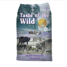 Taste of the Wild TOW Sierra Mountain Lamb 28lbs