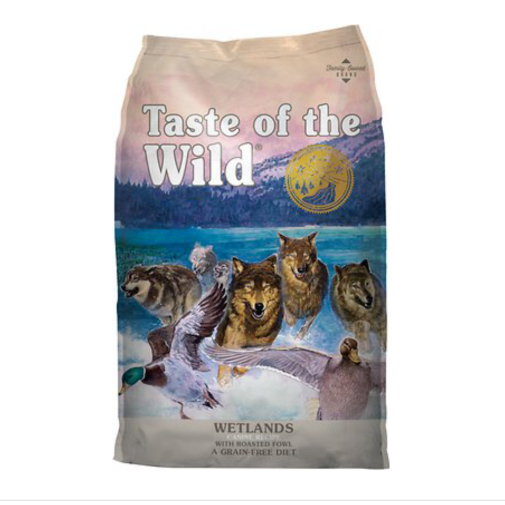 Taste of the Wild TOW Wetlands Wild Fowl 5lbs
