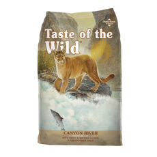 Taste of the Wild TOW Canyon River Feline 5lbs