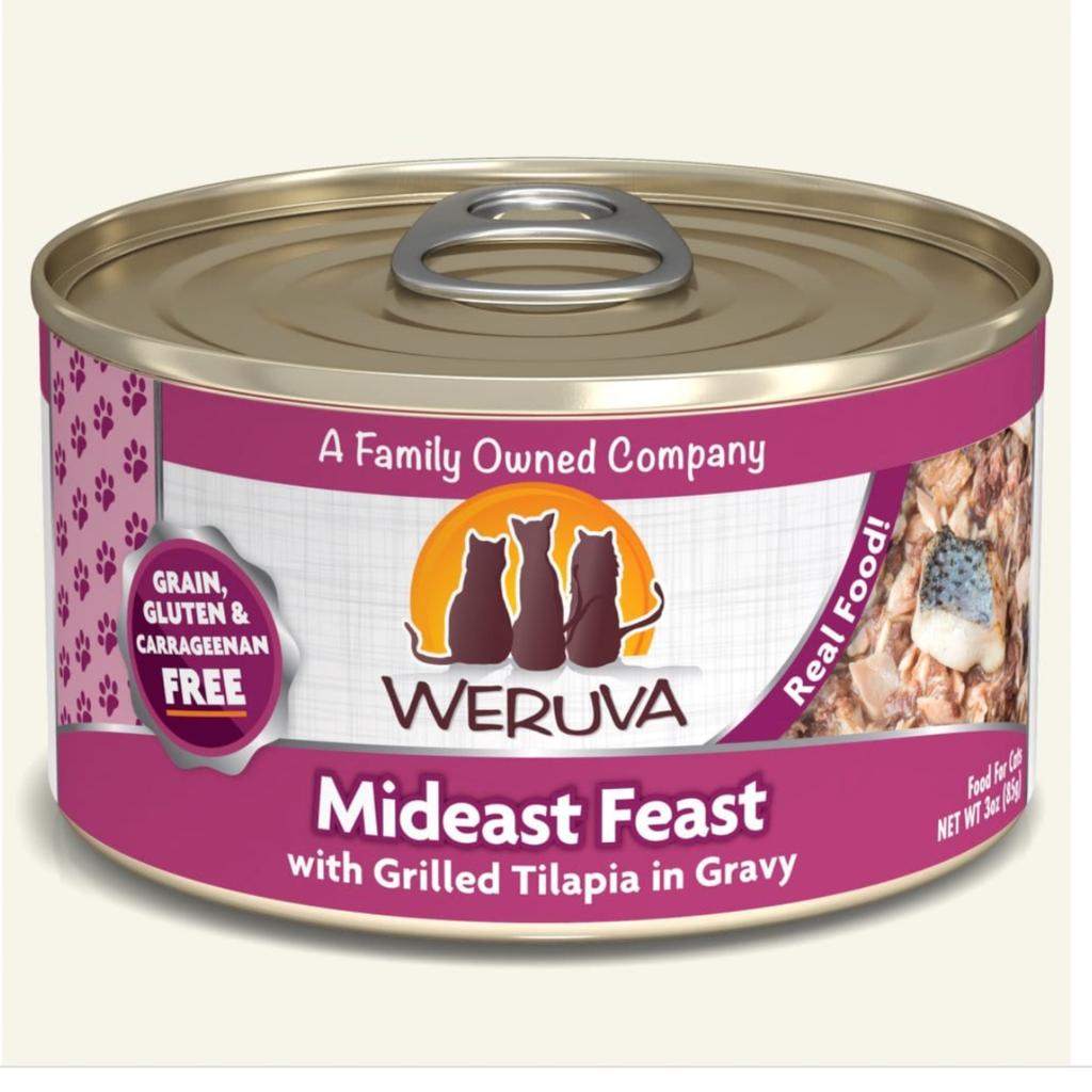 Weruva Weruva WRV Mideast Feast Cat 3oz