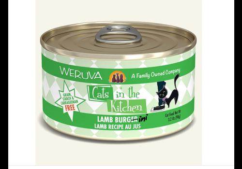 Weruva Weruva WRV CITK Lamb Burger-Ini 3.2oz