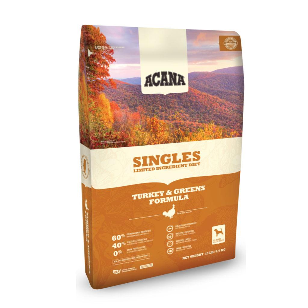 Acana Acana Dog Grain  Free Singles Turkey and Pumpkin 4.5